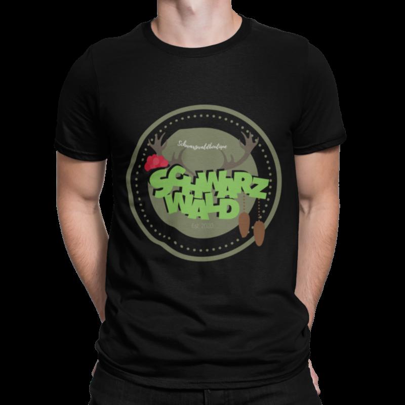 schwarzwald männer t-shirt - schwarzwälder tradition