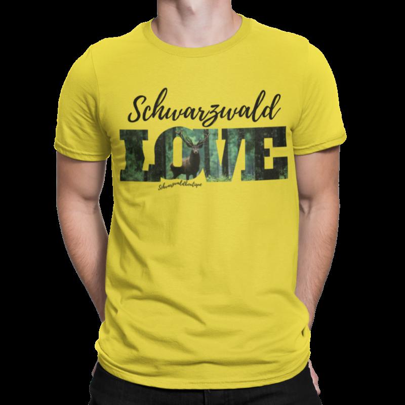 schwarzwald männer t-shirt - schwarzwald love
