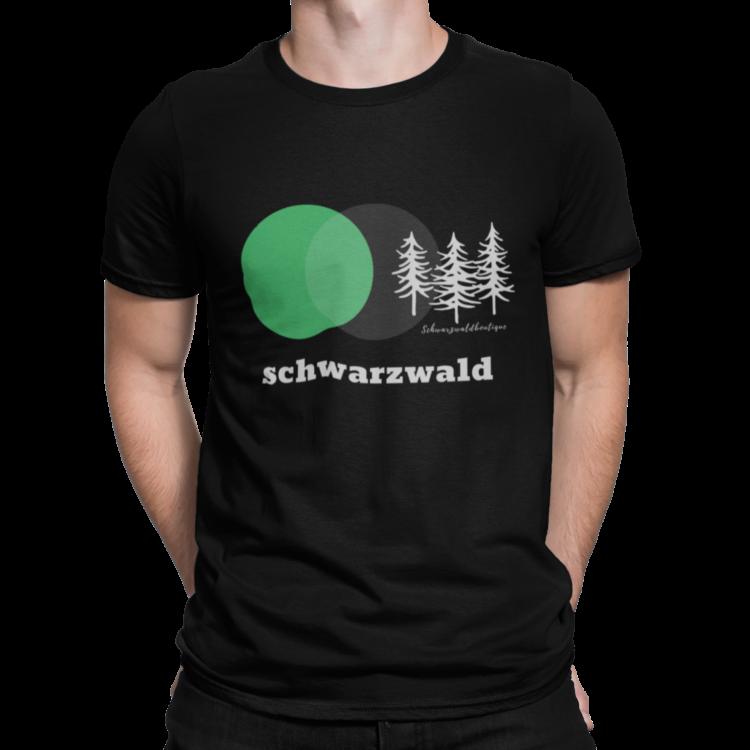 schwarzwald männer t-shirt - schwarzwald 3 tannen