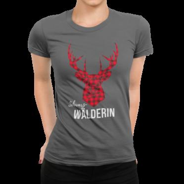 schwarzwald frauen t-shirt - schwarzwälderin