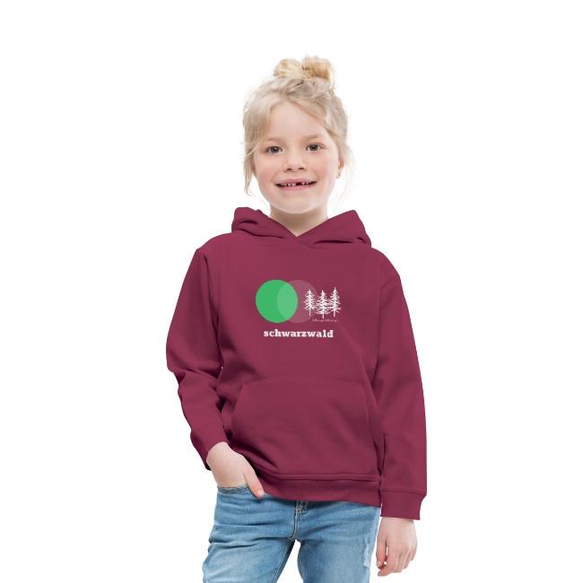 schwarzwald kinder t-shirt - schwarzwald 3 tannen