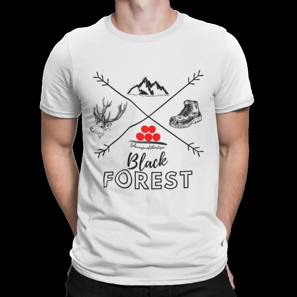 Schwarzwald T-shirt black forest kompass