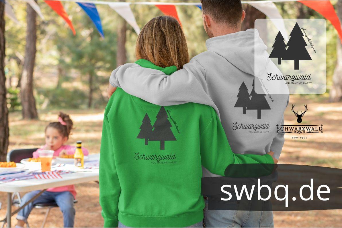 schwarzwald hoodie - schwarzwald you make me happy