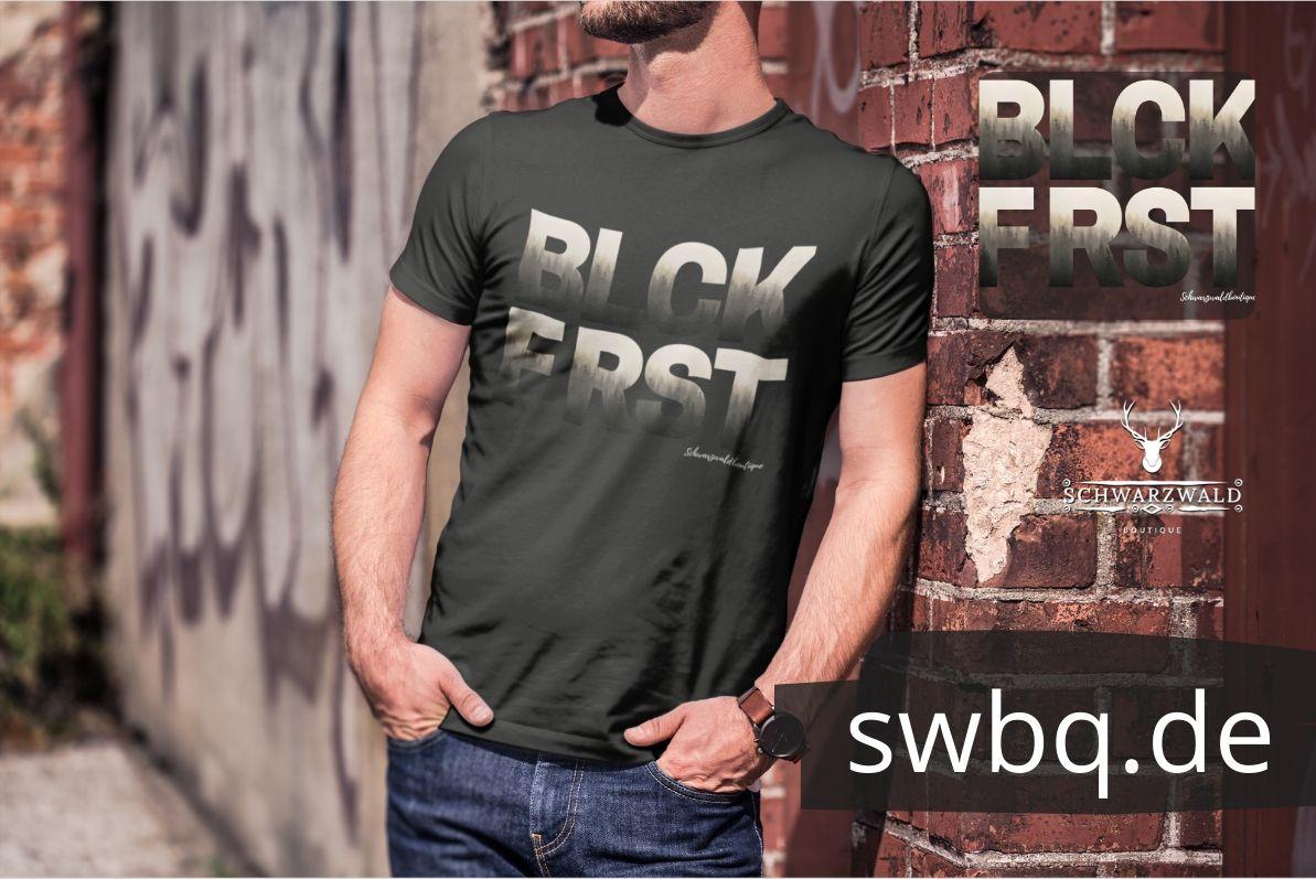 schwarzwald männer t-shirt - blck frst
