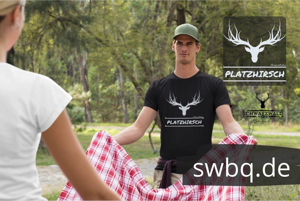 schwarzwald männer t-shirt - platzhirsch