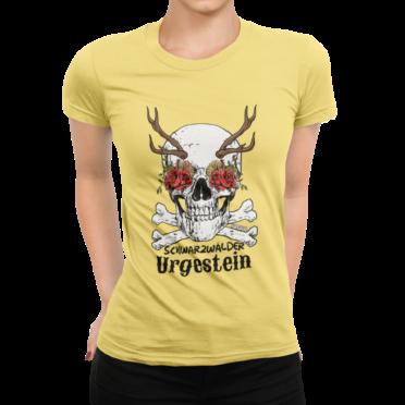 schwarzwald frauen t-shirt - schwarzwälder urgestein