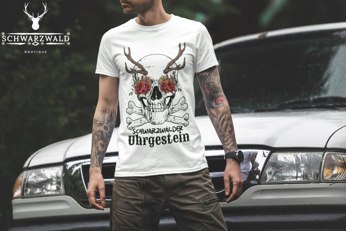 schwarzwald männer t-shirt - schwarzwälder urgestein
