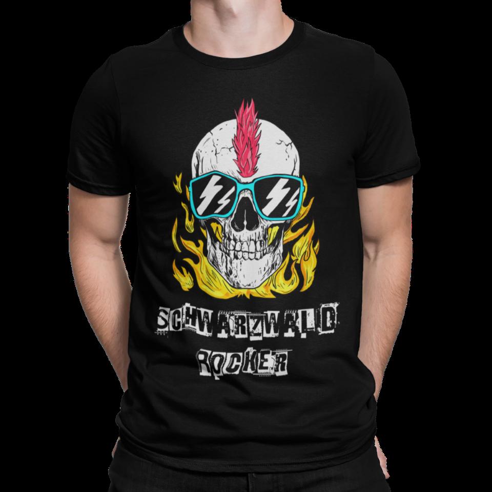 schwarzwald männer t-shirt - schwarzwald-rocker