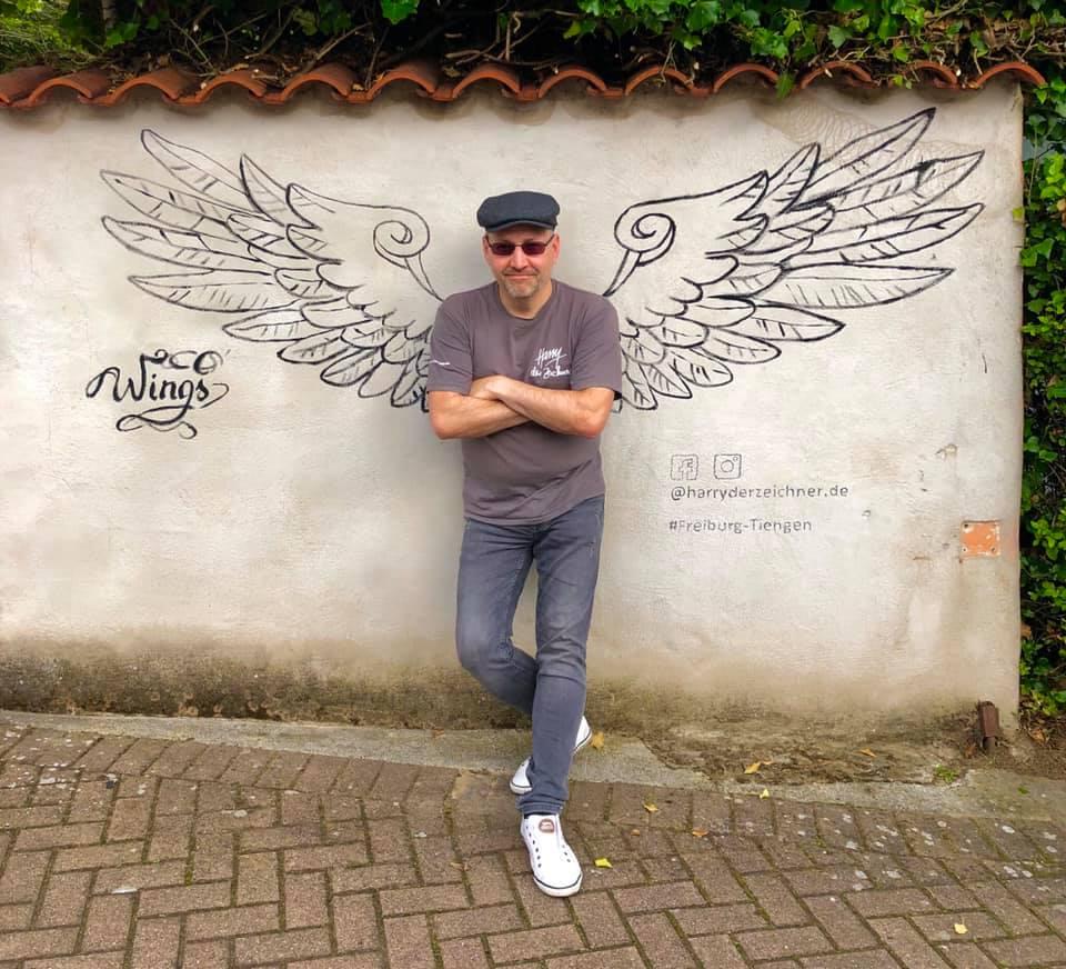 Harry zeichnet Schwarzwald Motive