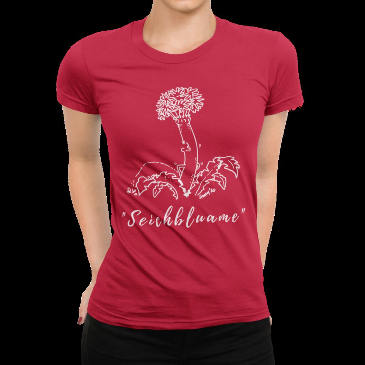 schwarzwald frauen t-shirt - schwarzwald-seichbluame