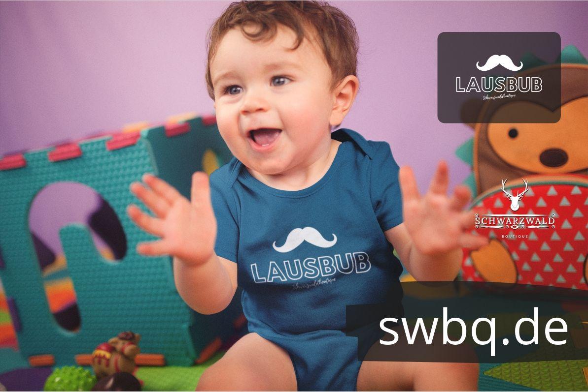 schwarzwald babybody - lausbub
