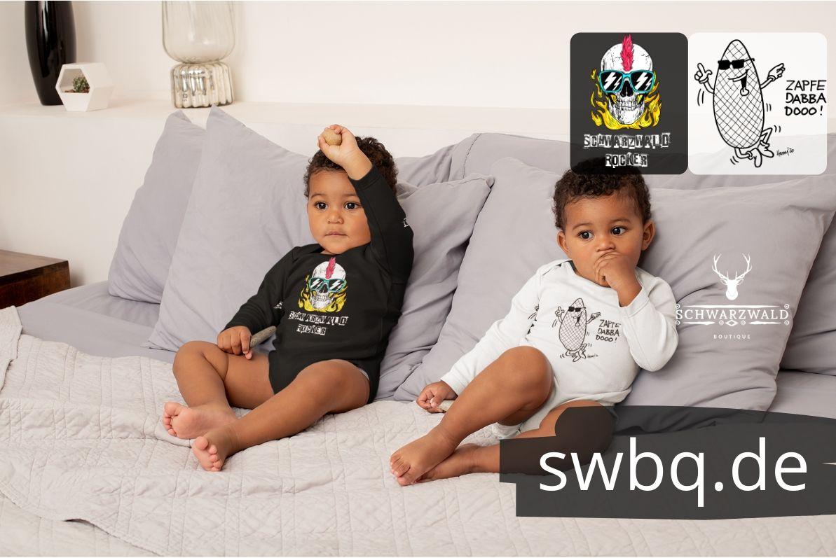 schwarzwald baby-body - schwarzwald-rocker