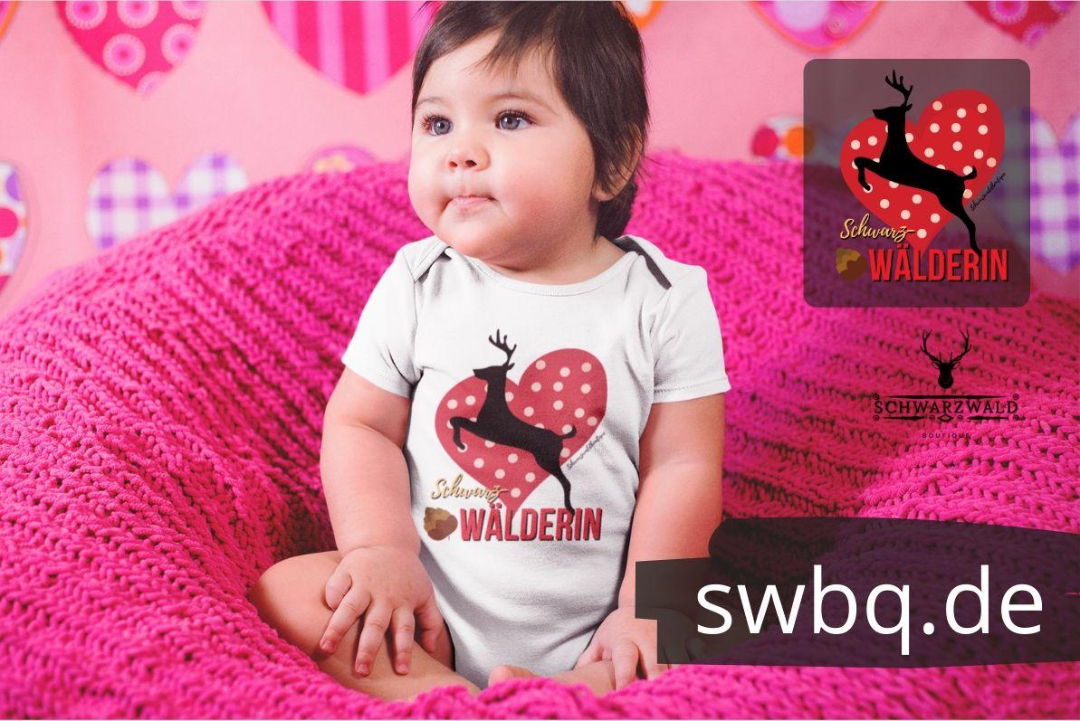 schwarzwald baby body - schwarzwälderin