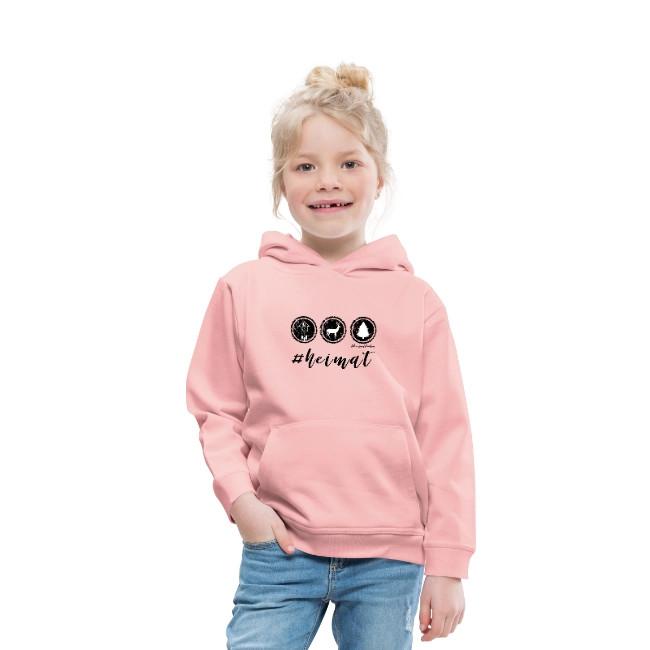 schwarzwald kinder hoodie - #heimat