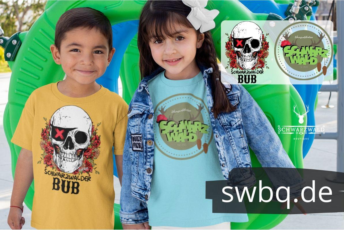 schwarzwald kinder & baby t-shirt - schwarzwälder bub