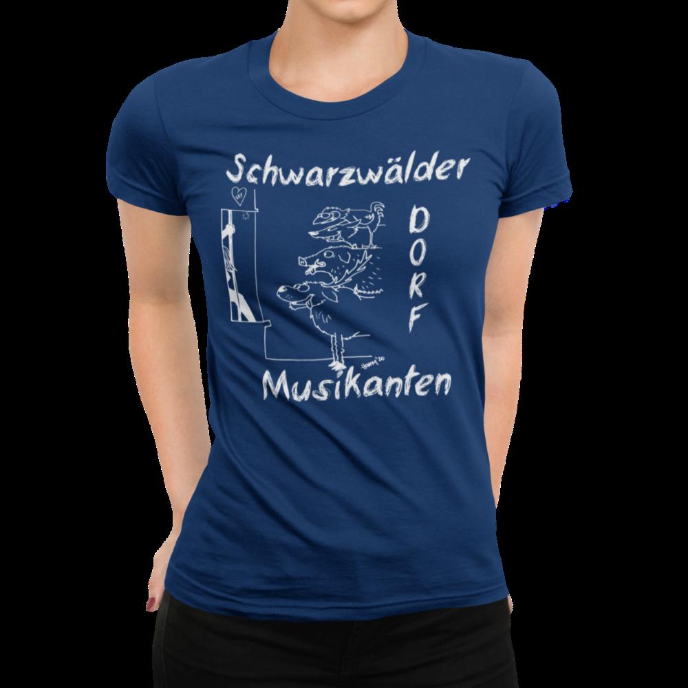 schwarzwald frauen t-shirt - schwarzwaelder-dorfmusikanten