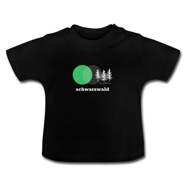 schwarzwald baby t-shirt - schwarzwald 3 tannen