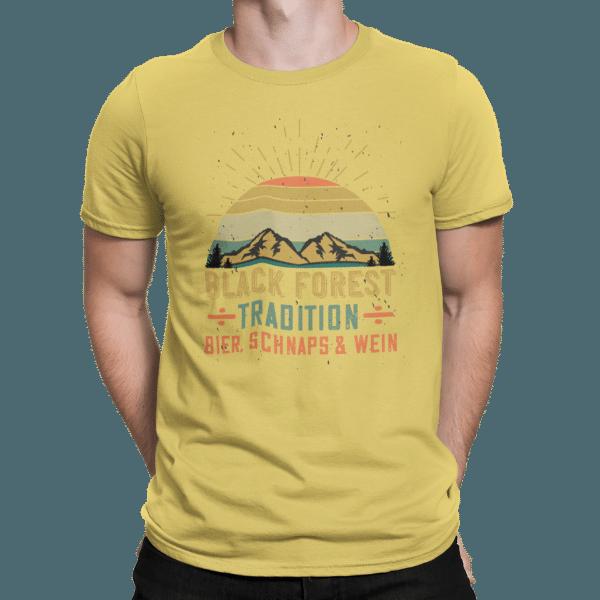 schwarzwald maenner shirt - design-black-forest-bier-schnaps-wein