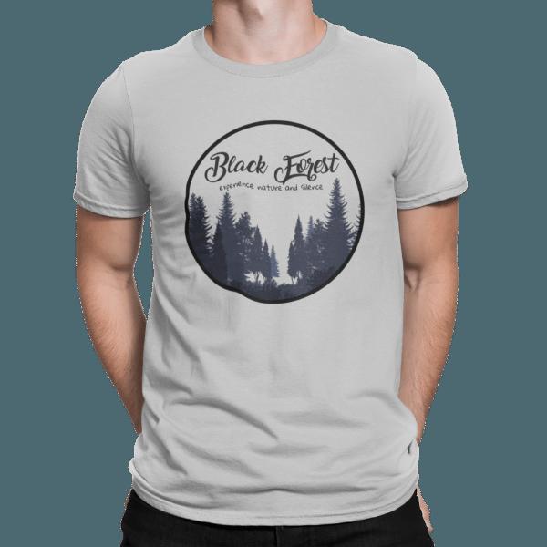 schwarzwald maenner t-shirt - entdecke-die-natur-und-die-stille-black-forest