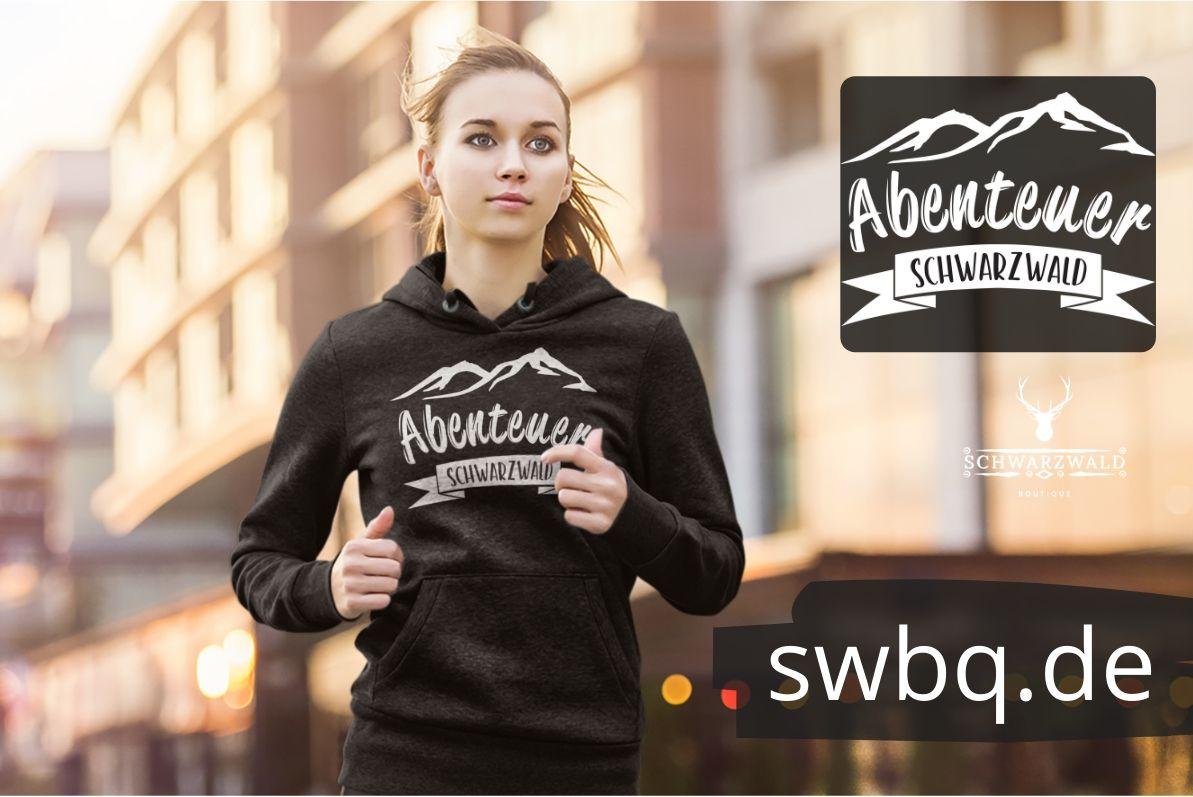 schwarzwald unisex hoodie - abenteuer schwarzwald