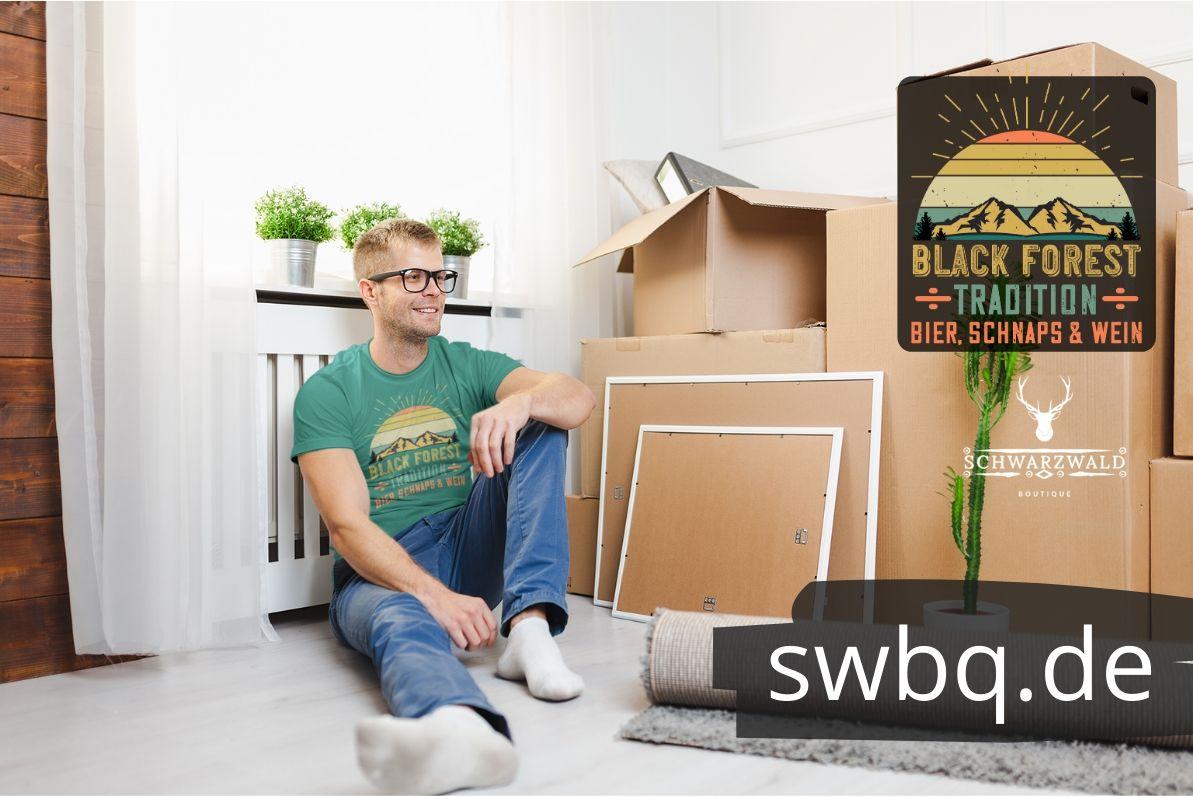 schwarzwald maenner tshirt - design-black-forest-bier-schnaps-wein