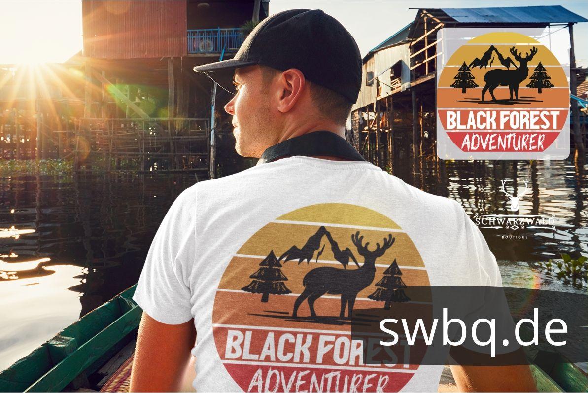 schwarzwald maenner shirt - design-black-forest-adventurer