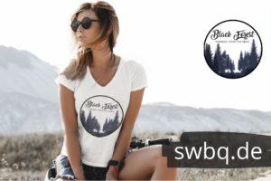 schwarzwald frauen t-shirt - entdecke-die-natur-und-die-stille-black-forest