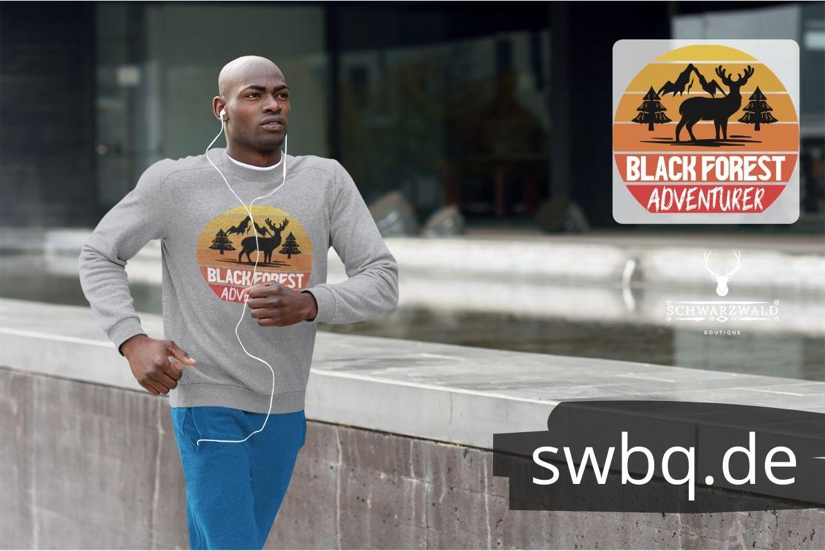 schwarzwald sweatshirt - design-black-forest-adventurer
