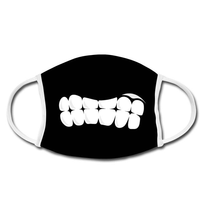 Gesichtsmaske-Mundschutz-maske-schwarzwald-design-zaehne