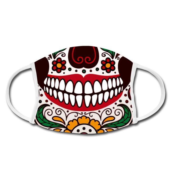Gesichtsmaske-Mundschutz-maske-schwarzwald-design-lustiger mundschutz