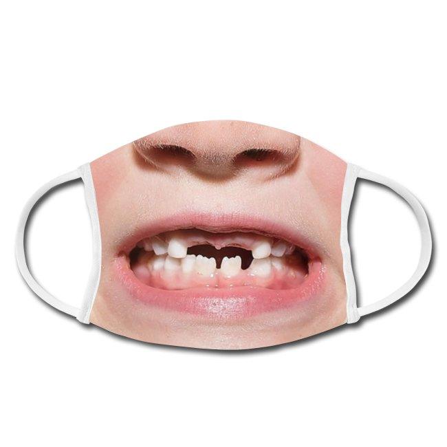 Gesichtsmaske-Mundschutz-maske-schwarzwald-design-zahnluecke