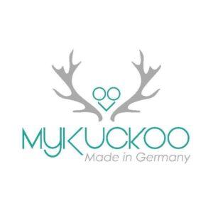 my kuckoo logo mit hirschgeweih und kuckuck