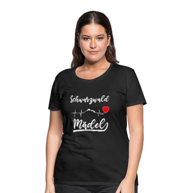 schwarzwald frauen shirt - schwarzwald maedel
