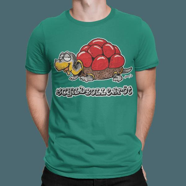schwarzwald maenner t-shirt - schildkroete mit bollenhut