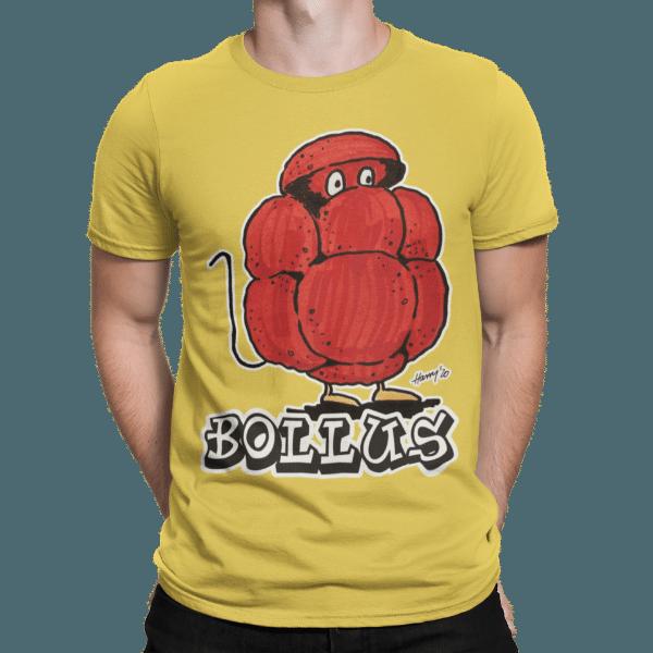 schwarzwald maenner t-shirt - bollus mit bollenhut