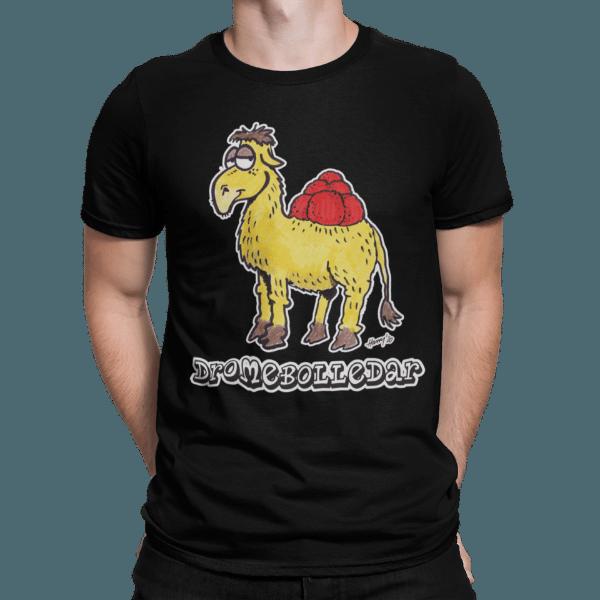 schwarzwald maenner t-shirt - dromedar mit bollenhut