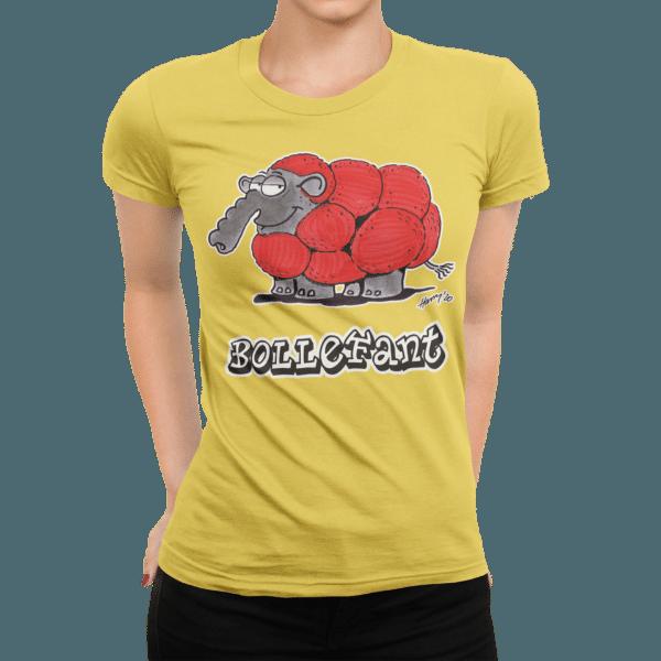 schwarzwald frauen t-shirt - elefant mit bollenhut