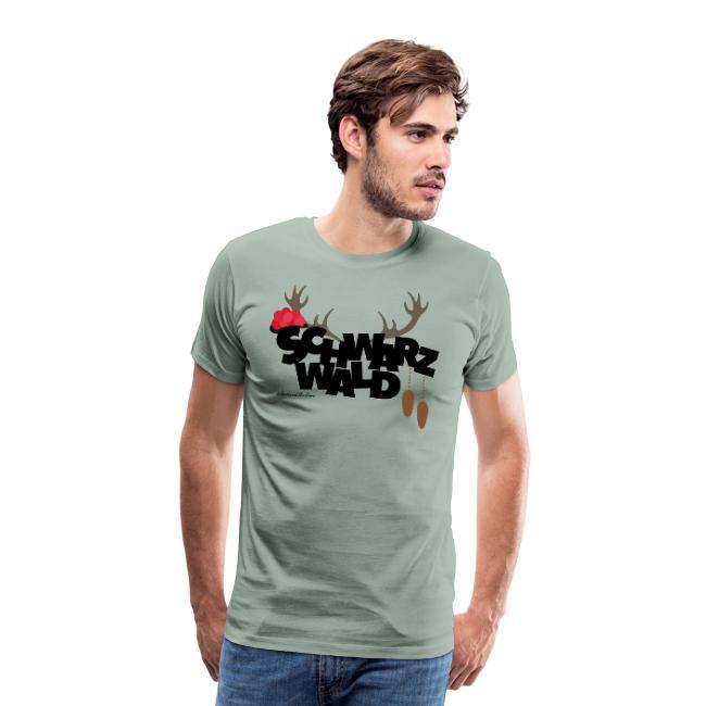 schwarzwald maenner t-shirt - schwarzwald trio