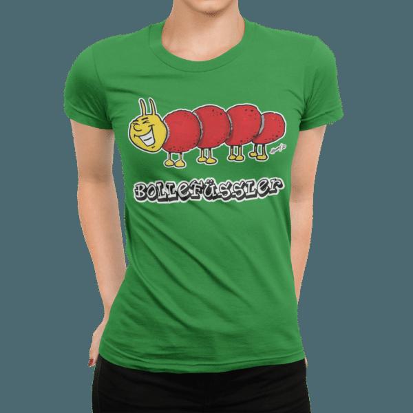 schwarzwald frauen t-shirt - taussenfuesser mit bollenhut