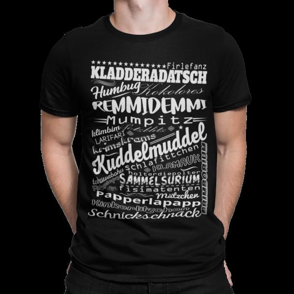 schwarzwald maenner t-shirt - alemannisches-woerterbuchT-shirt