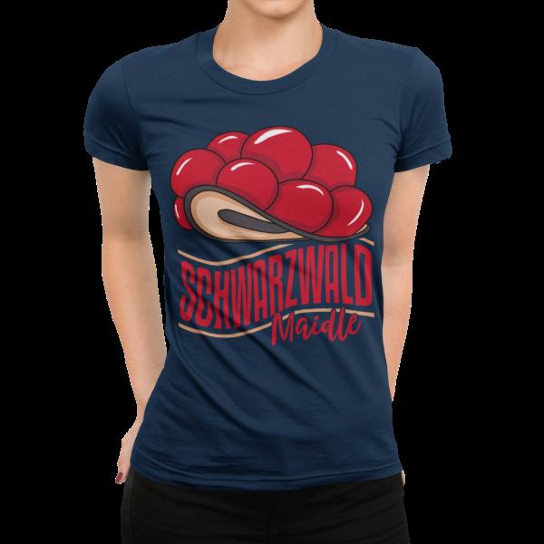 Bollenhut-schwarzwald t-shirt - bollenhut schwarzwald marie