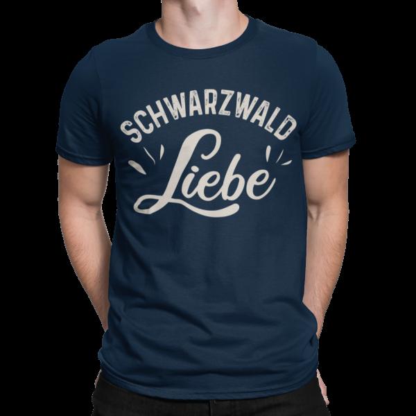 schwarzwald maenner t-shirt - schwarzwald liebe