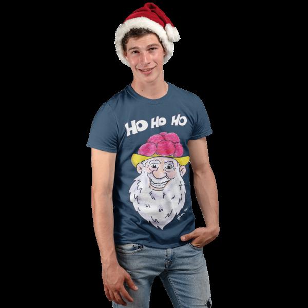 Schwarzwald t-shirt - schwarzwald nikolaus weihnachtsgeschenk nikolaus mit bart