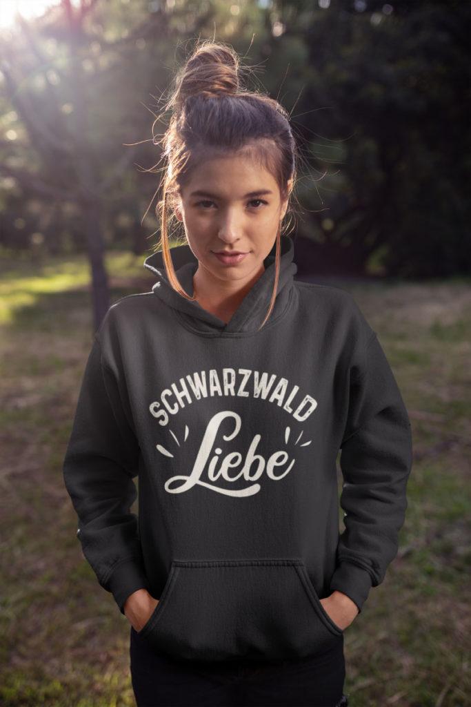 Cooler-schwarzwald hoodie - schwarzwald Liebe