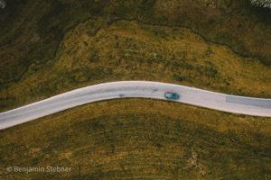 luftbild von der schwarzwaldhochstrasse