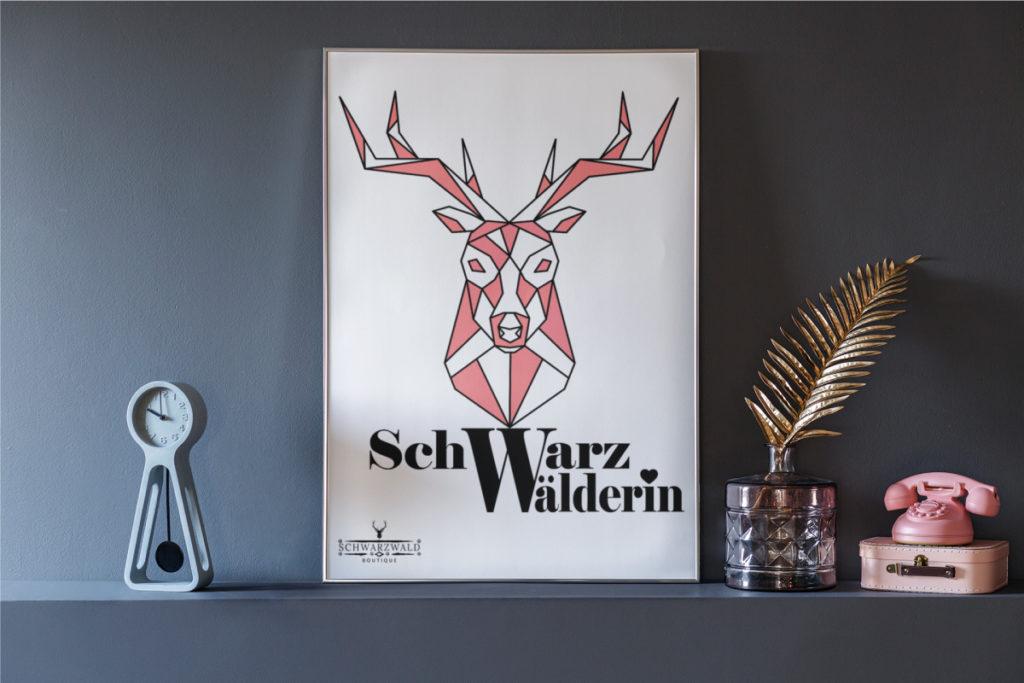 schwarzwald poster Schwarzwaelderin