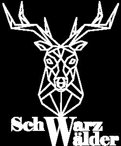 Schwarzwaldboutique Motiv Hirsch mit Schriftzug Schwarzwälder