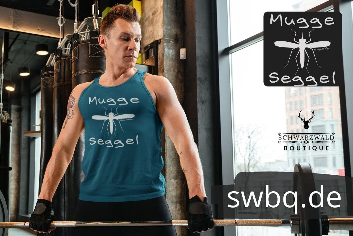 schwarzwald t-shirt mit alemannischem dialekt und dem wort Muggaseggele