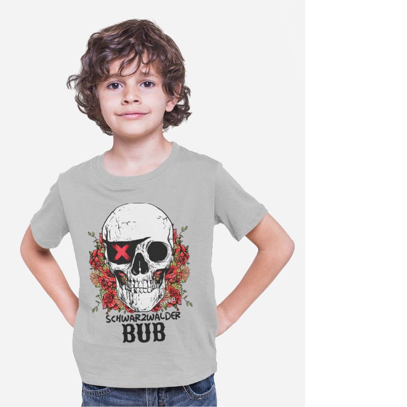 schwarzwald maenner t-shirt - schwarzwaelder-bub