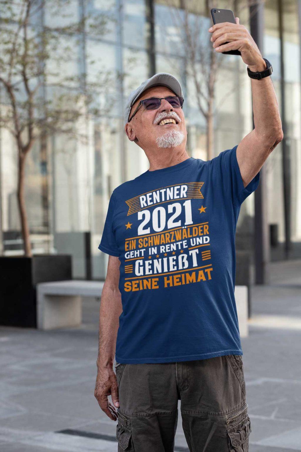 Passendes T-Shirt Motiv für Opa oder Papa der frisch in die Rente eingetreten ist oder der Eintritt noch kurz davor steht.